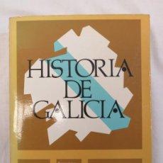 Libros antiguos: HISTORIA DE GALICIA. EMILIO GONZÁLEZ LÓPEZ. BIBLIOTECA GALLEGA. SERIE NOVA. Lote 186273405
