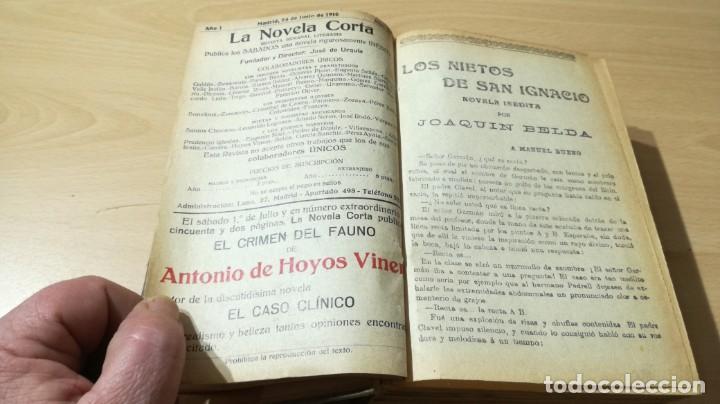 Libros antiguos: LA NOVELA CORTA PRIMER SEMESTRE ENERO JUNIO MCMXVI - 1916 - VER FOTOS TITULOS - Foto 5 - 186286253