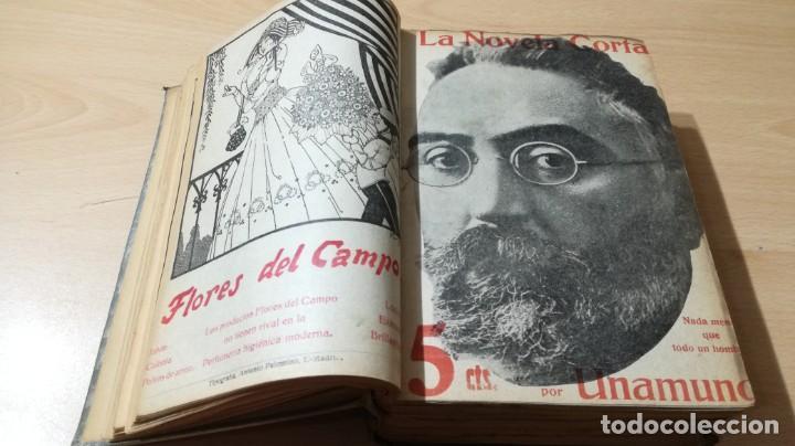 Libros antiguos: LA NOVELA CORTA PRIMER SEMESTRE ENERO JUNIO MCMXVI - 1916 - VER FOTOS TITULOS - Foto 9 - 186286253