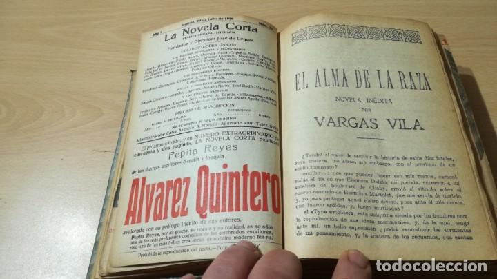 Libros antiguos: LA NOVELA CORTA PRIMER SEMESTRE ENERO JUNIO MCMXVI - 1916 - VER FOTOS TITULOS - Foto 13 - 186286253