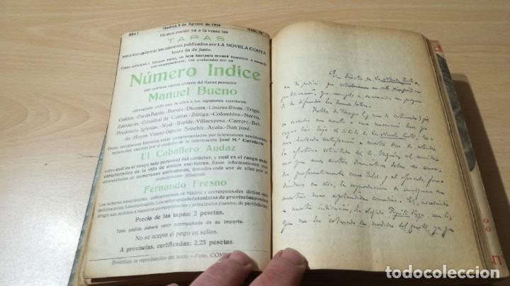 Libros antiguos: LA NOVELA CORTA PRIMER SEMESTRE ENERO JUNIO MCMXVI - 1916 - VER FOTOS TITULOS - Foto 15 - 186286253