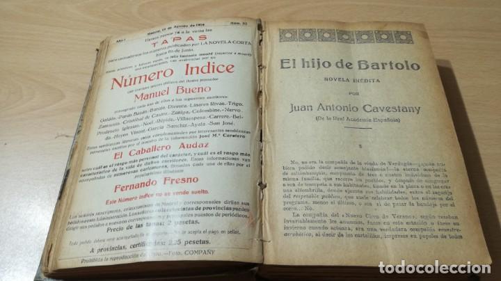 Libros antiguos: LA NOVELA CORTA PRIMER SEMESTRE ENERO JUNIO MCMXVI - 1916 - VER FOTOS TITULOS - Foto 17 - 186286253