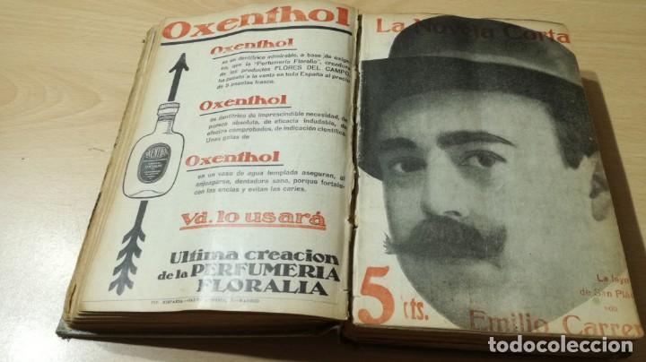 Libros antiguos: LA NOVELA CORTA PRIMER SEMESTRE ENERO JUNIO MCMXVI - 1916 - VER FOTOS TITULOS - Foto 18 - 186286253