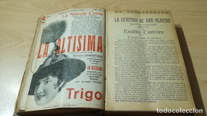 Libros antiguos: LA NOVELA CORTA PRIMER SEMESTRE ENERO JUNIO MCMXVI - 1916 - VER FOTOS TITULOS - Foto 19 - 186286253