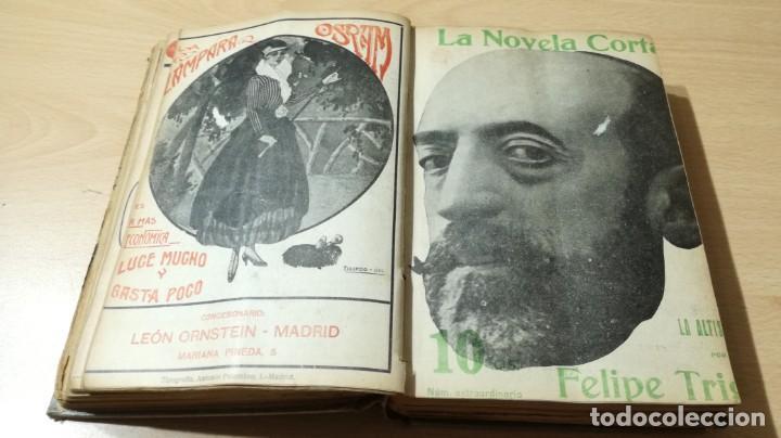Libros antiguos: LA NOVELA CORTA PRIMER SEMESTRE ENERO JUNIO MCMXVI - 1916 - VER FOTOS TITULOS - Foto 20 - 186286253