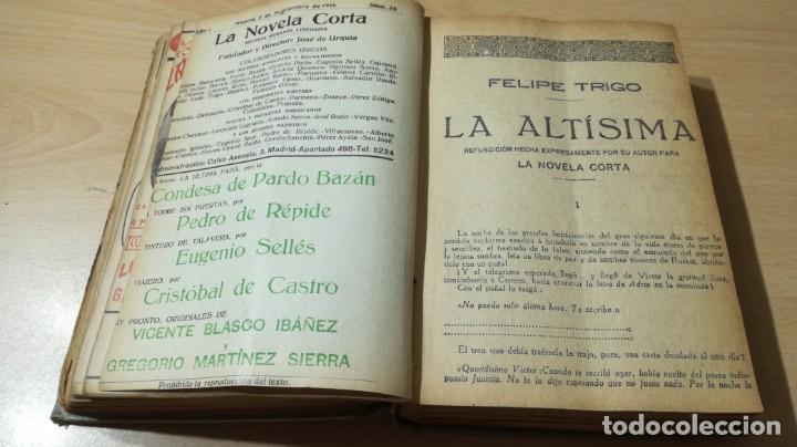 Libros antiguos: LA NOVELA CORTA PRIMER SEMESTRE ENERO JUNIO MCMXVI - 1916 - VER FOTOS TITULOS - Foto 21 - 186286253