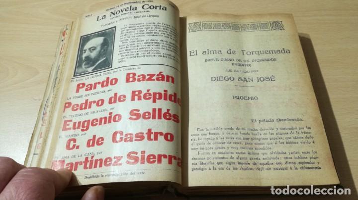 Libros antiguos: LA NOVELA CORTA PRIMER SEMESTRE ENERO JUNIO MCMXVI - 1916 - VER FOTOS TITULOS - Foto 25 - 186286253