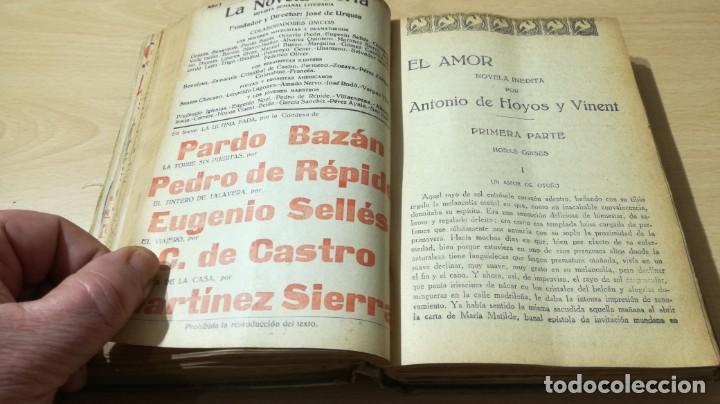 Libros antiguos: LA NOVELA CORTA PRIMER SEMESTRE ENERO JUNIO MCMXVI - 1916 - VER FOTOS TITULOS - Foto 27 - 186286253