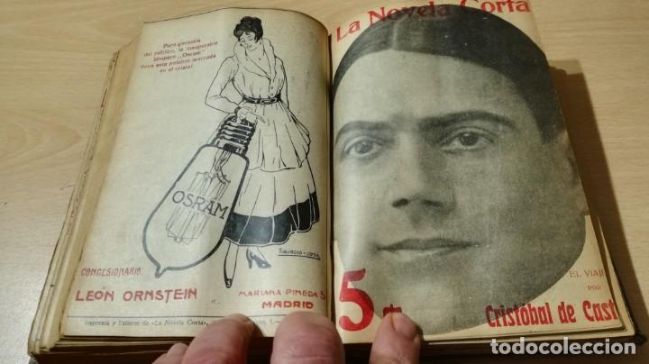 Libros antiguos: LA NOVELA CORTA PRIMER SEMESTRE ENERO JUNIO MCMXVI - 1916 - VER FOTOS TITULOS - Foto 28 - 186286253