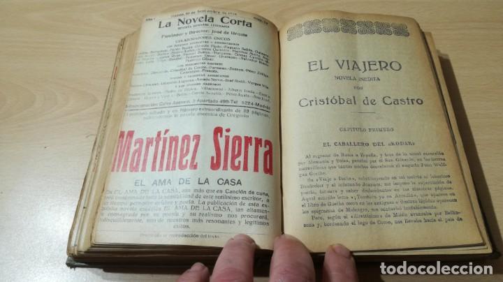 Libros antiguos: LA NOVELA CORTA PRIMER SEMESTRE ENERO JUNIO MCMXVI - 1916 - VER FOTOS TITULOS - Foto 29 - 186286253