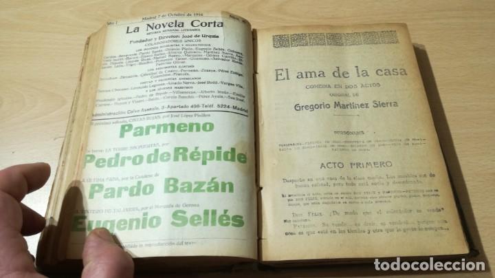 Libros antiguos: LA NOVELA CORTA PRIMER SEMESTRE ENERO JUNIO MCMXVI - 1916 - VER FOTOS TITULOS - Foto 31 - 186286253
