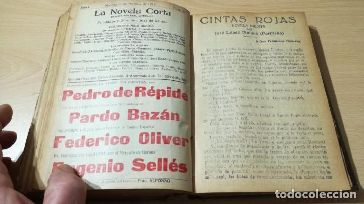 Libros antiguos: LA NOVELA CORTA PRIMER SEMESTRE ENERO JUNIO MCMXVI - 1916 - VER FOTOS TITULOS - Foto 33 - 186286253