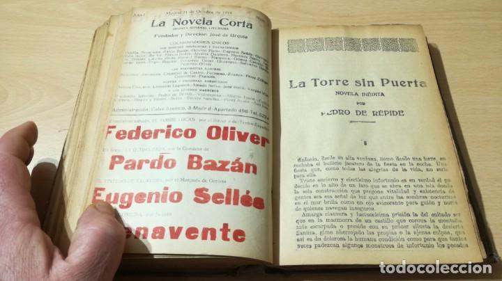 Libros antiguos: LA NOVELA CORTA PRIMER SEMESTRE ENERO JUNIO MCMXVI - 1916 - VER FOTOS TITULOS - Foto 35 - 186286253