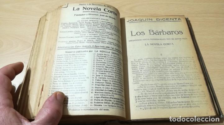 Libros antiguos: LA NOVELA CORTA PRIMER SEMESTRE ENERO JUNIO MCMXVI - 1916 - VER FOTOS TITULOS - Foto 39 - 186286253
