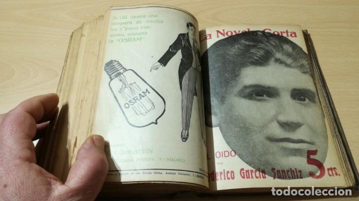 Libros antiguos: LA NOVELA CORTA PRIMER SEMESTRE ENERO JUNIO MCMXVI - 1916 - VER FOTOS TITULOS - Foto 40 - 186286253