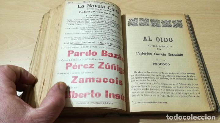 Libros antiguos: LA NOVELA CORTA PRIMER SEMESTRE ENERO JUNIO MCMXVI - 1916 - VER FOTOS TITULOS - Foto 41 - 186286253