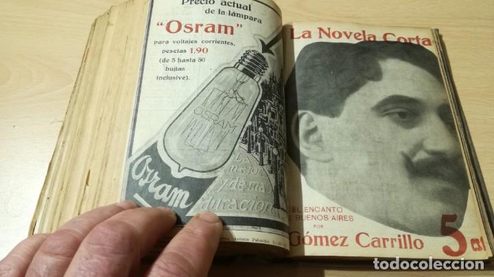 Libros antiguos: LA NOVELA CORTA PRIMER SEMESTRE ENERO JUNIO MCMXVI - 1916 - VER FOTOS TITULOS - Foto 44 - 186286253