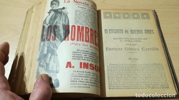 Libros antiguos: LA NOVELA CORTA PRIMER SEMESTRE ENERO JUNIO MCMXVI - 1916 - VER FOTOS TITULOS - Foto 45 - 186286253