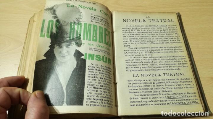 Libros antiguos: LA NOVELA CORTA PRIMER SEMESTRE ENERO JUNIO MCMXVI - 1916 - VER FOTOS TITULOS - Foto 47 - 186286253