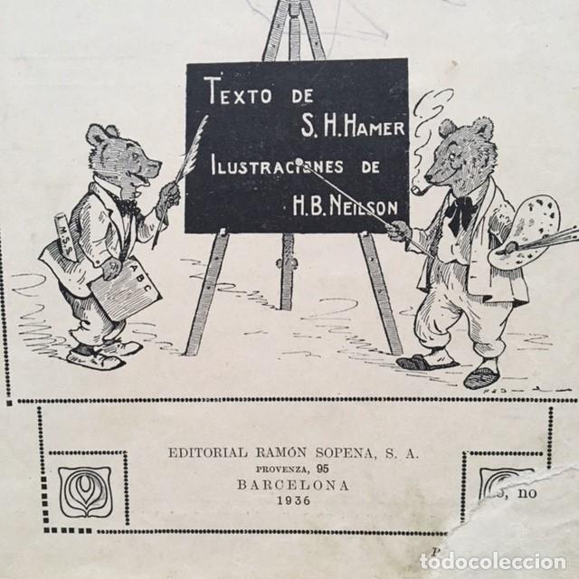 Libros antiguos: LIBRO ESCUELA DE ANIMALES original de S.H. HAMER año 1936 Ilustrado por HARRY B.NIELSON - Foto 7 - 186290517