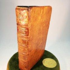 Libros antiguos: LE SPECTACLE DE LA NATURA OU ENTRETIENS SUR LES PARTICULARITÉS DE L'HISTOIRE NATURELLE. PARÍS. 1744.. Lote 186323395
