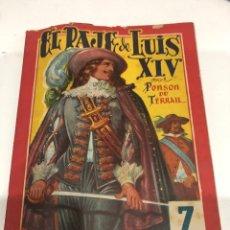 Libros antiguos: EL PAJE DE LUIS XIV. Lote 186354470