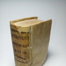 Libros antiguos: D. DIONYSII CARTHUSIANI DE QUATUOR HOMINIS NOUISSIMIS, LIBER, NUNC IN QUATUOR PARTES DIUISUS. 1591.. Lote 186415795