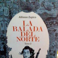 Libros antiguos: LA BALADA DEL NORTE TOMO 2, ALFONSO ZAPICO, ASTIBERRI EDIT.. Lote 186441298