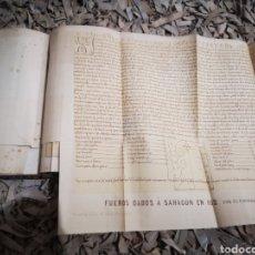 Livres anciens: EL FUERO DE AVILÉS. DISCURSO LEIDO EN JUNTA PÚBLICA DE LA REAL ACADEMIA ESPAÑOLA, 1865. Lote 187122402