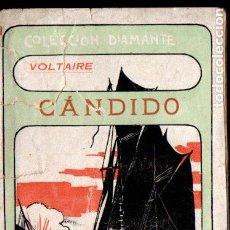 Libros antiguos: VOLTAIRE : CÁNDIDO (COL. DIAMANTE, C. 1900) . Lote 187208477