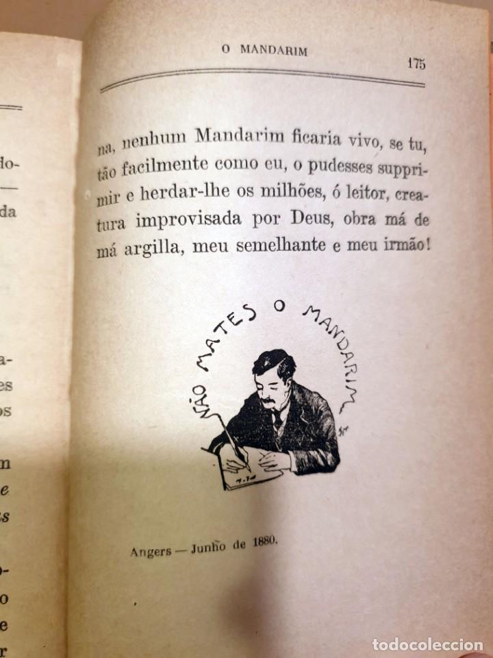 Libros antiguos: O MANDARIM - EÇA DE QUEIROZ - SETIMA EDIÇAO ILUSTRADA CON PREFACIO DO AUCTOR - 1919 - Foto 3 - 187232360