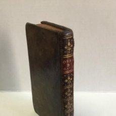 Libros antiguos: OBRAS DE GARCILASO DE LA VEGA, ILUSTRADAS CON NOTAS. - VEGA, GARCILASO DE LA.. Lote 123256790