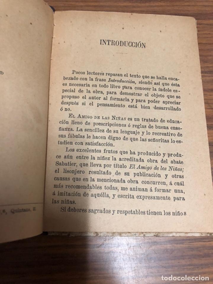 Libros antiguos: EL AMIGO DE LAS NIÑAS- TRATADO DE EDUCACIÓN-D. LEOPOLDO DELGRAS-AÑO 1900. - Foto 4 - 187332262