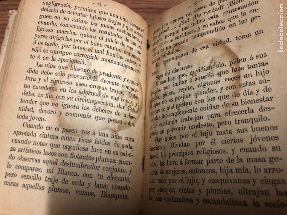 Libros antiguos: EL AMIGO DE LAS NIÑAS- TRATADO DE EDUCACIÓN-D. LEOPOLDO DELGRAS-AÑO 1900. - Foto 6 - 187332262