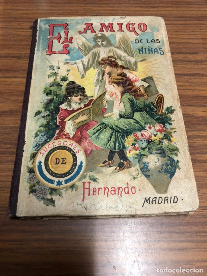 EL AMIGO DE LAS NIÑAS- TRATADO DE EDUCACIÓN-D. LEOPOLDO DELGRAS-AÑO 1900. (Libros Antiguos, Raros y Curiosos - Literatura - Otros)