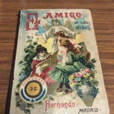 Libros antiguos: EL AMIGO DE LAS NIÑAS- TRATADO DE EDUCACIÓN-D. LEOPOLDO DELGRAS-AÑO 1900.. Lote 187332262