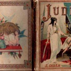 Libros antiguos: P. BERTHE : JUDIT Y EZEQUÍAS /CALLEJA, C. 1900) NARRACIONES BÍBLICAS.. Lote 187375902