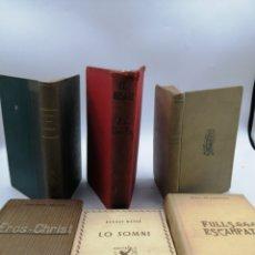 Libros antiguos: 6 NOVELAS EN CATALAN 1908 Y 1918. Lote 187377212