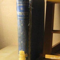 Libros antiguos: EL FIRMAMENTO. LUIS RODES.1939.. Lote 187383103