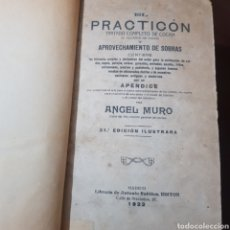 Libros antiguos: EL PRACTICON 1922 ANGEL MURO. Lote 187396265