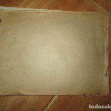 Libros antiguos: LIBRO ORIGINAL APUNTES REFERENCIA A VALDECABRAS CUENCA HUERTA CARTAGENA ALCANTARILLA INEDITO 74 PGS. Lote 187399211