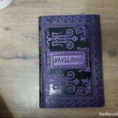 Libros antiguos: ESCRITOS INÉDITOS DE JOVELLANOS . JULIO SOMOZA DE MONTSORIU. 1ª EDICIÓN 1891. BARCELONA. UNA JOYA!!!. Lote 187425301
