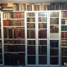 Libros antiguos: GRAN COLECCIÓN DE LIBROS ANTIGUOS.. Lote 187452233