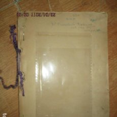 Libros antiguos: EL DERROTADO VICTORIOSO SOBRE LA GUERRA CIVIL MANUSCRITO ORIGINAL INEDITO CARLOS HERRERO. Lote 183346436
