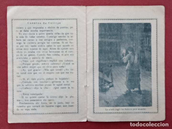Libros antiguos: LOTE DE 11 LIBRITOS CUENTOS DE SATURNINO CALLEJA. LA TORTA, CAZUELAS QUE HABLAN.....VER FOTOS - Foto 6 - 187586548