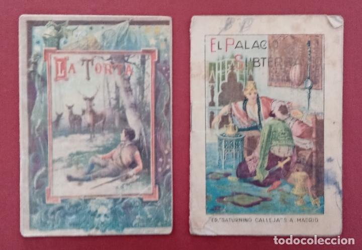 Libros antiguos: LOTE DE 11 LIBRITOS CUENTOS DE SATURNINO CALLEJA. LA TORTA, CAZUELAS QUE HABLAN.....VER FOTOS - Foto 7 - 187586548