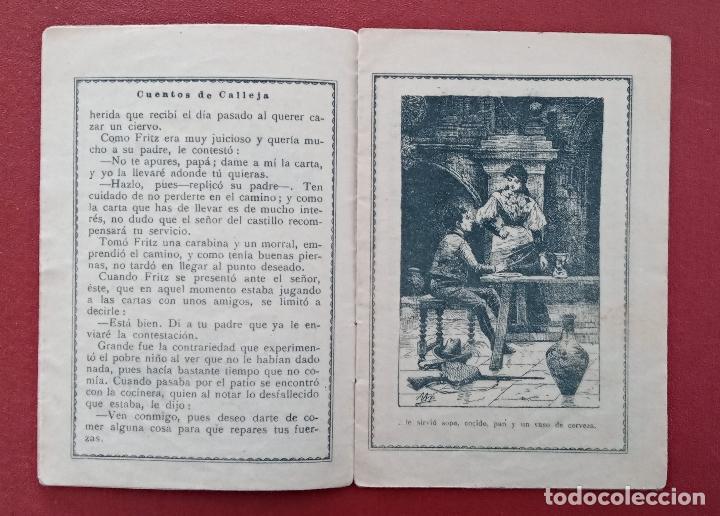 Libros antiguos: LOTE DE 11 LIBRITOS CUENTOS DE SATURNINO CALLEJA. LA TORTA, CAZUELAS QUE HABLAN.....VER FOTOS - Foto 8 - 187586548