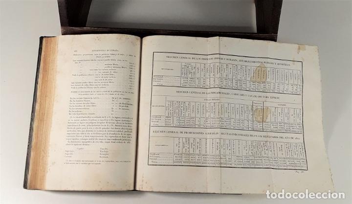 Libros antiguos: ESTADÍSTICA DE ESPAÑA. MOREAU DE JONNÉS. IMP. M. RIVADENEYRA Y CIA. BARCELONA. 1835. - Foto 6 - 187596167