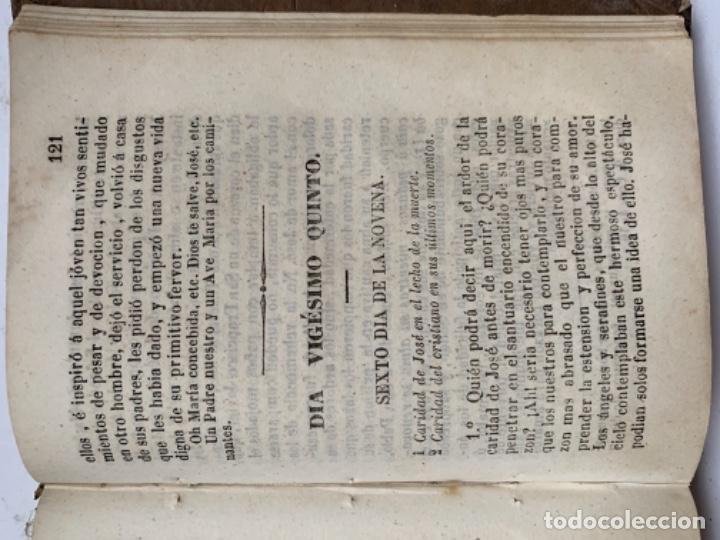 Libros antiguos: San José o Meditaciones para todos los días del mes de marzo - Foto 5 - 187605257