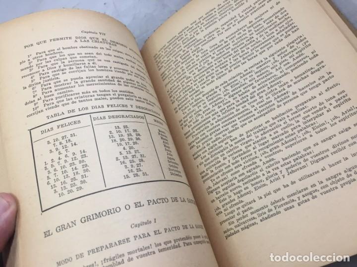 Libros antiguos: EL LIBRO INFERNAL. Tesoro de las Ciencias Ocultas 1962 Caymi Buenos Aires - Foto 4 - 187621278